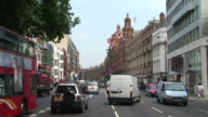 LondonView of a City Street in London United Kingdom