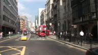 LondonView of City Street in London United Kingdom