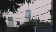 Long Distance shot of New York City's World Trade Center.
