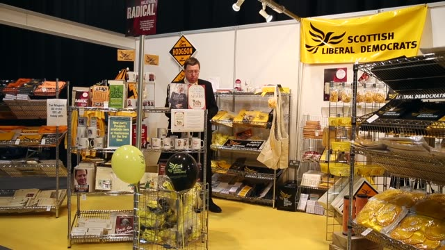 Long Shot a LibDem delegate is browsing the gift shop The Liberal Democrat Autumn conference began in Glasgow on the 13th of September where the...