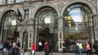 Long Shot Apple Store on Regents Street London