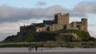 Long Shot Bamburgh Castle Bamburgh Castle is located on the coast at Bamburgh in Northumberland England Built on a dolerite outcrop the location was...