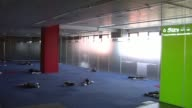 Long Shot empty News Of The World offices in Wapping London on August 12 2013 NO