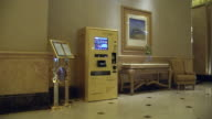 Long shot Gold ATM at Emirates Palace Hotel Hall Shot on November 2012