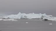 Long Shot Icebergs are seen in the water off the coast of Ilulissat Greenland As the sea levels around the globe rise researchers affiliated with the...