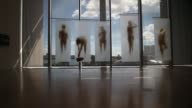 Long Shot visitors walk through a gallery during the opening day of the Pérez Art Museum Miami on December 4 2013 in Miami Florida The museum...