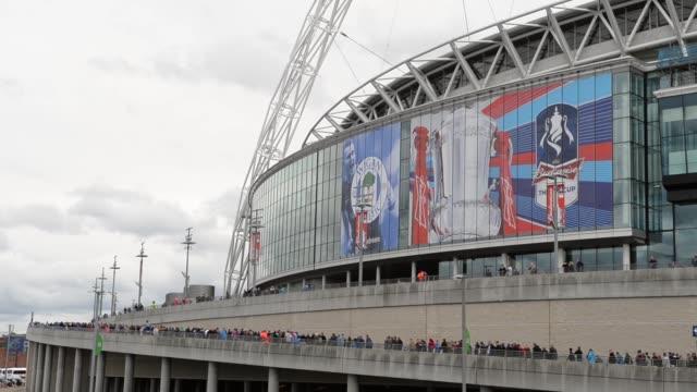 Long shot Wembley stadium Manchester City v Wigan Athletic FA Cup Final at Wembley Stadium on May 11 2013 in London England
