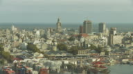 A Long View of Palacio Salvo, Uruguay