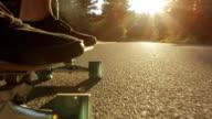 Longboarding in Slow Motion