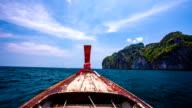 POV Asiatisches Langboot