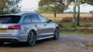 A look at the interior and exterior of the new Audi A6 Avant estate