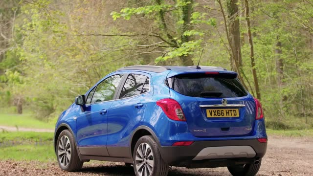 A look at the interior and exterior of the Vauxhall Mokka X