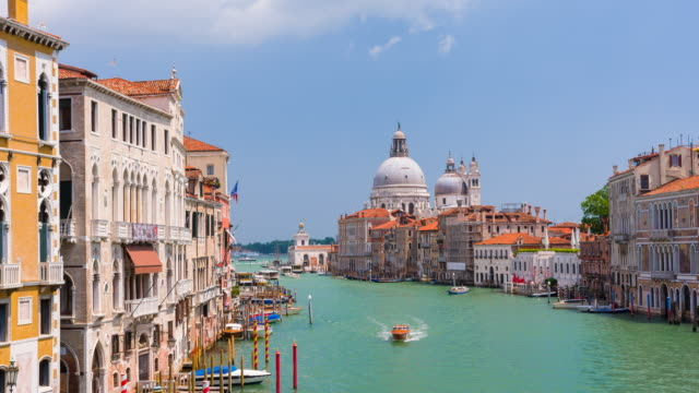 Looking out into the Venice Canal, Italy