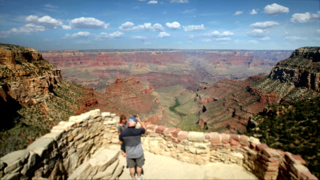 Lookout at the Grand Canyon