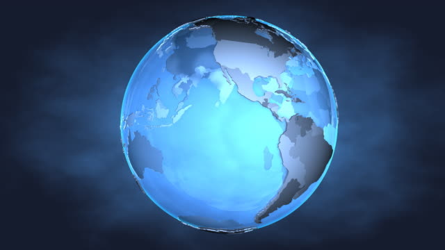 Loop Blue Earth 1080p