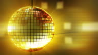 Loop: disco ball background