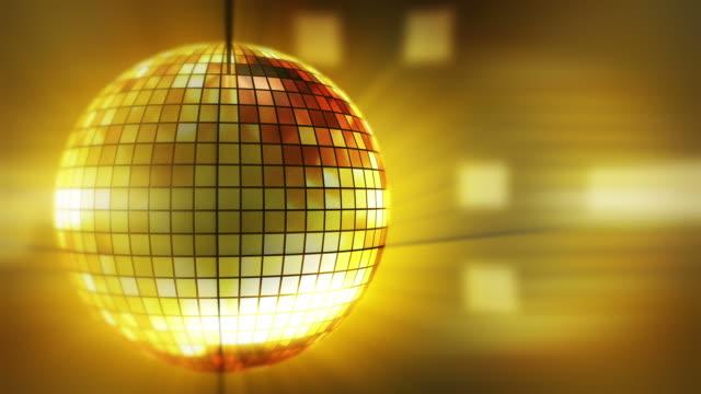 Loop: disco ball background