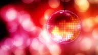 Loop: disco ball with bokeh