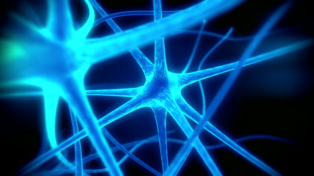 Loop neuron medical animation