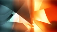 Loopable abstract glass background