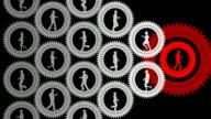 Endlos wiederholbar, Geschäftsfrau Führung