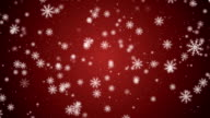 Loopable Christmas Snowflakes