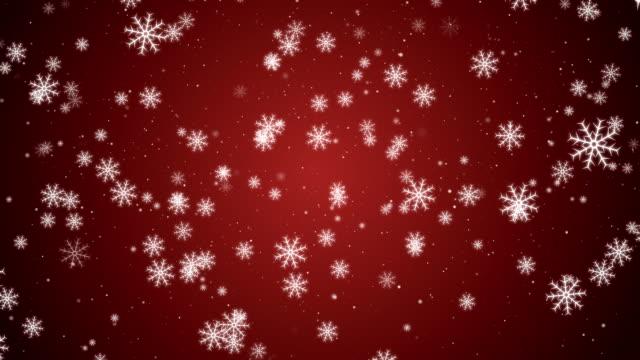 Endlos wiederholbar Weihnachten Schneeflocken