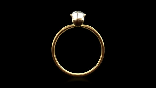 Loopable diamond ring (Alpha_channel)