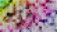 Loopable disco mosaic background