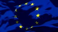 Endlos wiederholbar Europäischen Union Flag