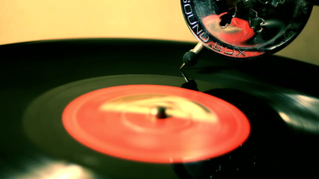 Loopable Grammophone Longplay Disc