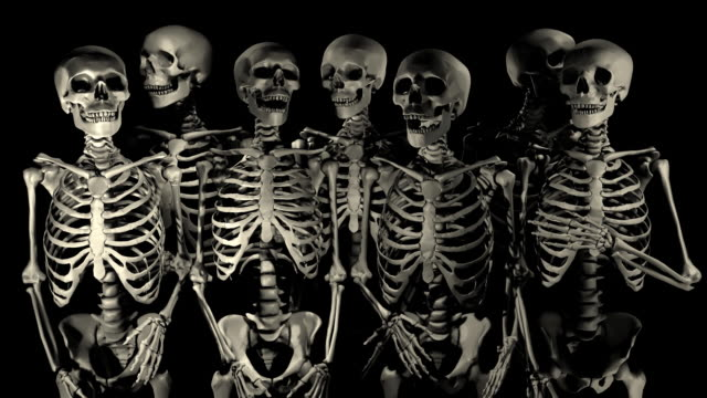 Loopable, Halloween, Welcoming Party of Skeletons