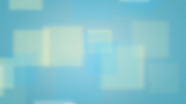 Loopable Light Blue Background with Fading Squares