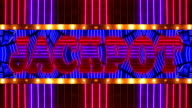 Loopable Neon JACKPOT Marquee