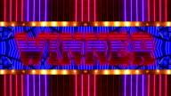 Loopable Neon WINNER Marquee