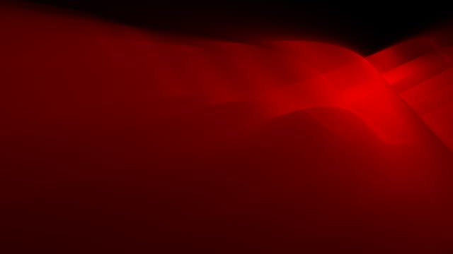 Loopable, Red Abstract Dynamic Element 3D