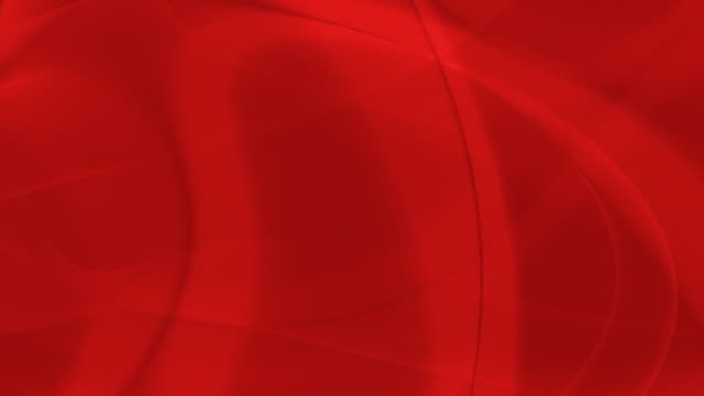 Loopable, Red Abstraction Soft Curves Abstract