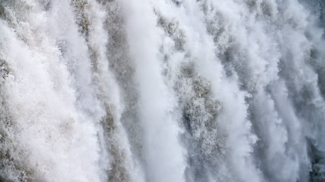 Loopable Slow Motion: Waterfall Close Up