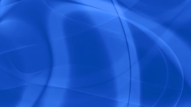 Loopable, Soft Blue Curves, Abstraction