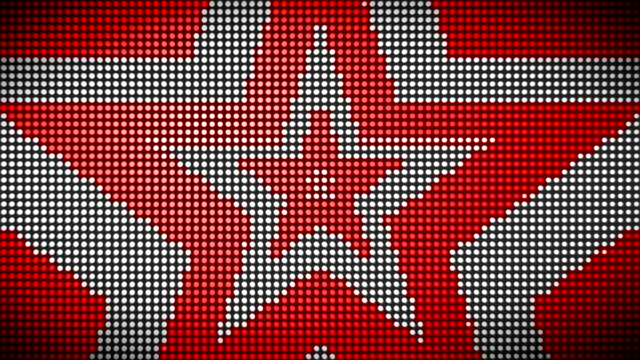 Loopable Star Light Wall Animation