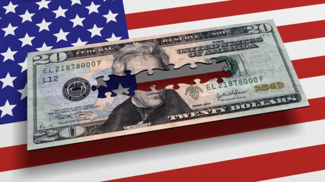Loopable, USA, american Money Currency Puzzle