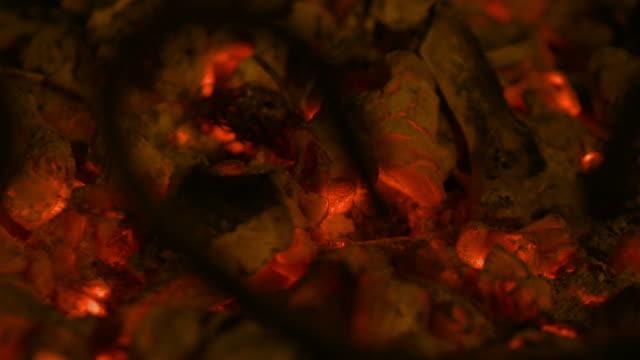 Loopable video of embers in 4K