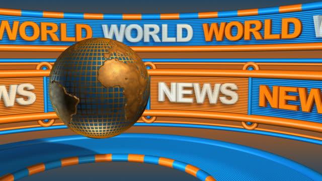 Loopable, World News Header - Global Communications