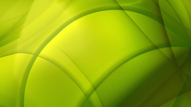 Loopable, Yellow-Green Geometric Abstraction