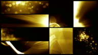 Looping Banner Backgrounds - 24 Video Value Pack Gold