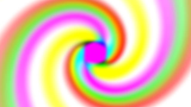 Looping Rainbow Spiral (HD)