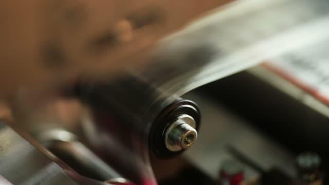 Loop video di un proiettore con 35 mm