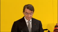 Lord Mandelson and President of India attend UK India Business Council Summit Lord Mandelson speech continued SOT Over the last 30 years Britain has...