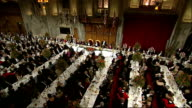 Lord Mayor's banquet at London's Guildhall David Cameron speech David Cameron speech SOT Today threats originating in one part of the world become...