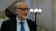 Lord Greaves interview ENGLAND London Westminster INT Lord Greaves interview SOT Time for both sides to stop lobbying grenades at each other from...